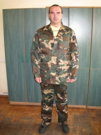 Костюм камуфлированный (куртка брюки) мод. К11Б14