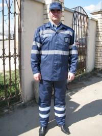Костюм ИТР повышенной видимости в ночное время мод. «К4М105» (куртка брюки) СТБ 1387-2003