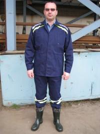 Костюм для работников комунальных служб мод. (кртка полукомбинезон) СТБ 1387-2003