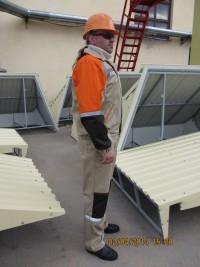 Костюм (куртка полукомбинезон) М-128А защитные свойства ЗМи