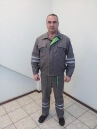 Костюм мод. М-125 (куртка полукомбинезон)