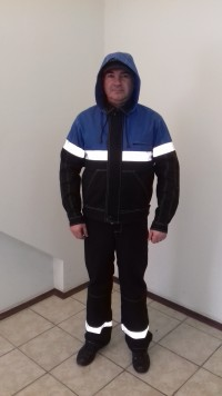 Костюм рабочий (куртка полукомбез) защитные свойства ЗМи