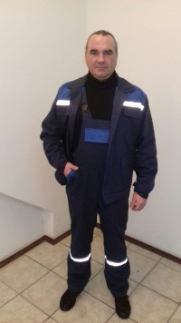 Костюм мод. М-109 (куртка полукомбинезон) ЗМи 78 хлопка