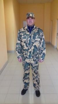 Костюм М-125 (куртка полукомбинезон + кепка) КМФ буря в пустыне