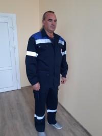 Костюм рабочий (куртка брюки) М-129 мужской женский
