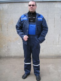 Костюм мод. М-112 (куртка полукомбинезон) СТБ 1387-2003