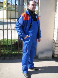 Костюм мод. М-116 (куртка полукомбинезон) СТБ 1387-2003