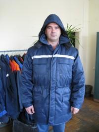 Куртка утепленная с капюшоном мод. К-4УКП2У