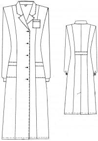 Халат мод. М-010